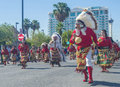 Fiesta las vegas sep a participants at the parade held in nevada on september the annual Stock Photo