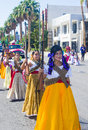Fiesta las vegas sep a participants at the parade held in nevada on september the annual Royalty Free Stock Photo