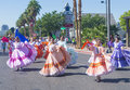 Fiesta las vegas sep a participants at the parade held in nevada on september the annual Stock Photography