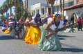 Fiesta las vegas sep a participants at the parade held in nevada on september the annual Stock Image
