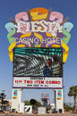 Fiesta rancho casino sign in las vegas nv on may hotel is one of station s including a sister Royalty Free Stock Photo