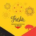 Fiesta Spain Royalty Free Stock Photo