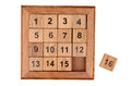 Fifteen puzzle Royalty Free Stock Photo