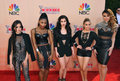 Fifth harmony los angeles ca march at the iheart radio music awards at the shrine auditorium Royalty Free Stock Photos