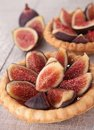 Fig dessert Royalty Free Stock Photo