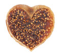 Fig in the form of heart Stock Photos