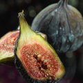 Fig inside Royalty Free Stock Image