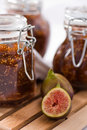 Fig jam Royalty Free Stock Photos