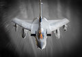 Stock Image Fighter jet in flight