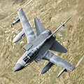 Fighter jet power gr tornado providing weapons loaded Stock Photos