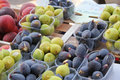 Figs at a French market Stock Image
