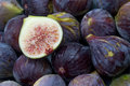 Figs a lot of on top of a table Royalty Free Stock Images