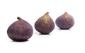 Figs ripe isolated on white Royalty Free Stock Images