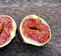 Figs tropical fruits fruits on nostalgia background Royalty Free Stock Image