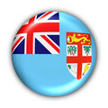 Fiji Flag Royalty Free Stock Photography