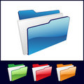 File folder Royalty Free Stock Photography