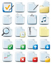 File icons Royalty Free Stock Photo
