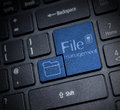 File Management Royalty Free Stock Photo