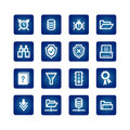 File server icons Royalty Free Stock Photography