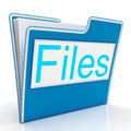 Files word showing organizing and reports documents filing Stock Photos