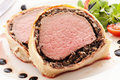 Filet de boeuf en croute Stock Images