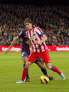 Filipe Luis of Atletico de Madrid Stock Photography