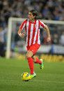 Filipe Luis Kasmirski of Atletico de Madrid Stock Photos
