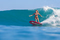 Fille de surfer Image stock
