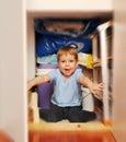 Fille espiègle Photos libres de droits
