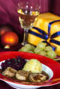 A Fillet Mignon, festive Table Royalty Free Stock Photography