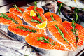 Fillet of red fish Royalty Free Stock Photo