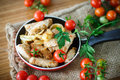 Fillet roasted turkey slices with vegetables Royalty Free Stock Photo
