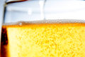 Filling the beer glass Royalty Free Stock Photo