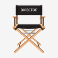 Film director chair. Wooden movie director chair.