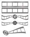 Film et bobine Image stock