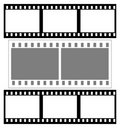 Film fames(group mix) Royalty Free Stock Photo