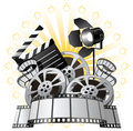 Film Premiere Royalty Free Stock Photography