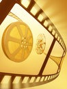 Film Reel Backlight Royalty Free Stock Photos