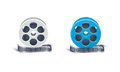 Film reel old motion picture Royalty Free Stock Photo