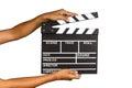 Film Slate Royalty Free Stock Photo