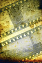 Film strip abstract background Stock Images