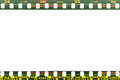 Film strip edge background Royalty Free Stock Image