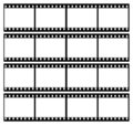 Film strip frames frame Royalty Free Stock Photography