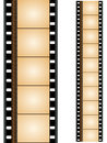 Film strip strips beautiful designed with more elements Royalty Free Stock Photography
