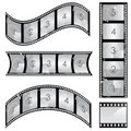 Film strip vector Stock Image