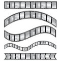 Film strip vector Royalty Free Stock Photo