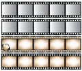 Film strips Royalty Free Stock Images