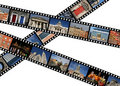 Film strips Royalty Free Stock Photography