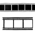 Film symbol movies photography camera and camcorder Royalty Free Stock Images