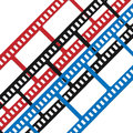 Film symbol movies photography camera and camcorder Royalty Free Stock Photo